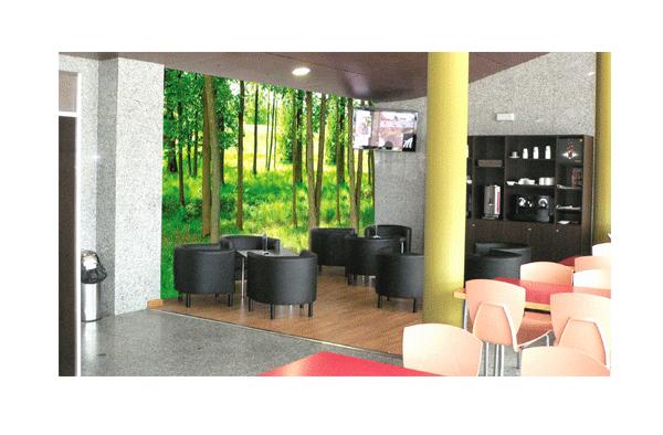 decoración de locales comerciales por imprenta navacerrada