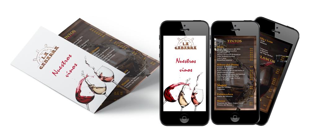 cartas-para-restaurante-papel-y-virtual-LA-GABARRA-Majadahonda